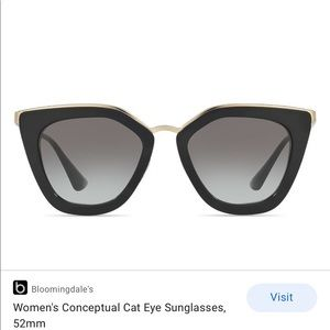 Prada cateye sunglasses